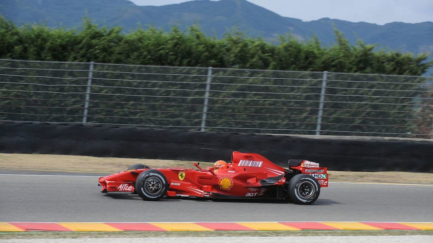 Spa selling 'a ticket per minute' for Schumacher race