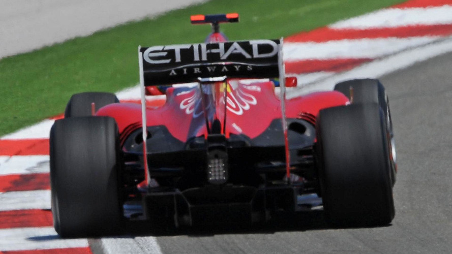 Reporter spots new diffuser on Ferrari's F10