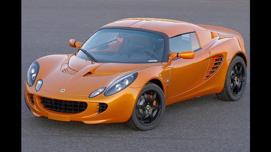 Lotus präsentiert ein Sondermodell der Elise S