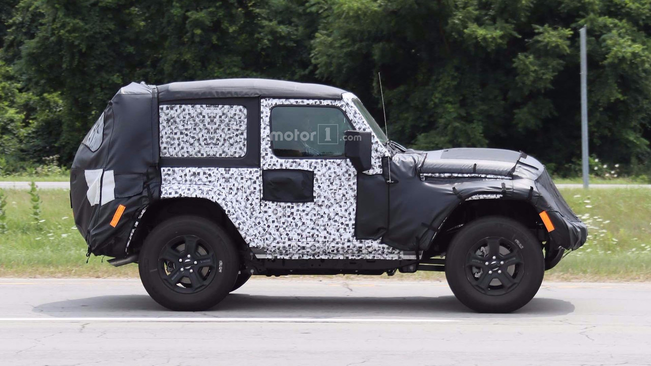 2018 jeep wrangler 4 door. exellent door 2018 jeep wrangler twodoor spy photo and jeep wrangler 4 door