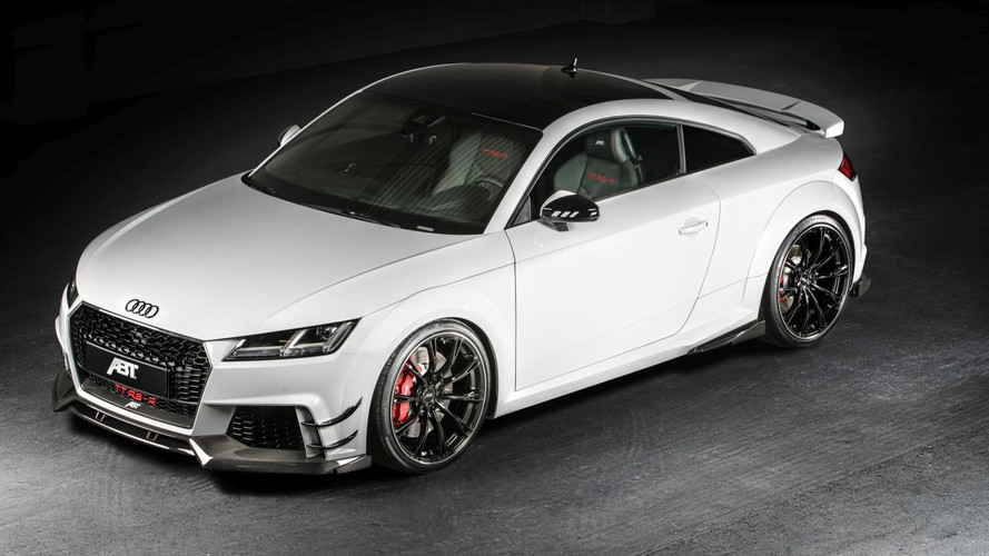 Audi TT RS-R Is A Mean-Looking 500-Horsepower Baby R8