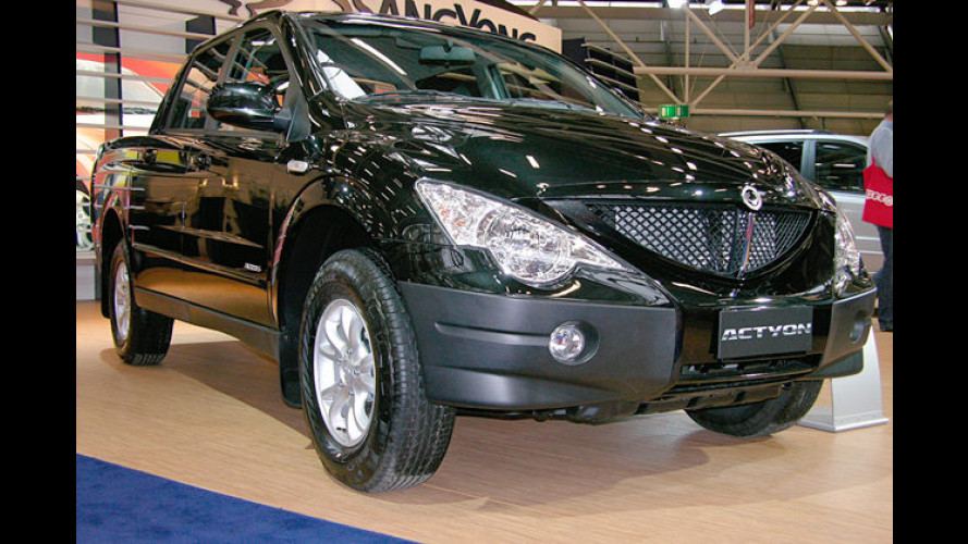 SsangYong Actyon Sports: Neuer Pick-up kommt 2007