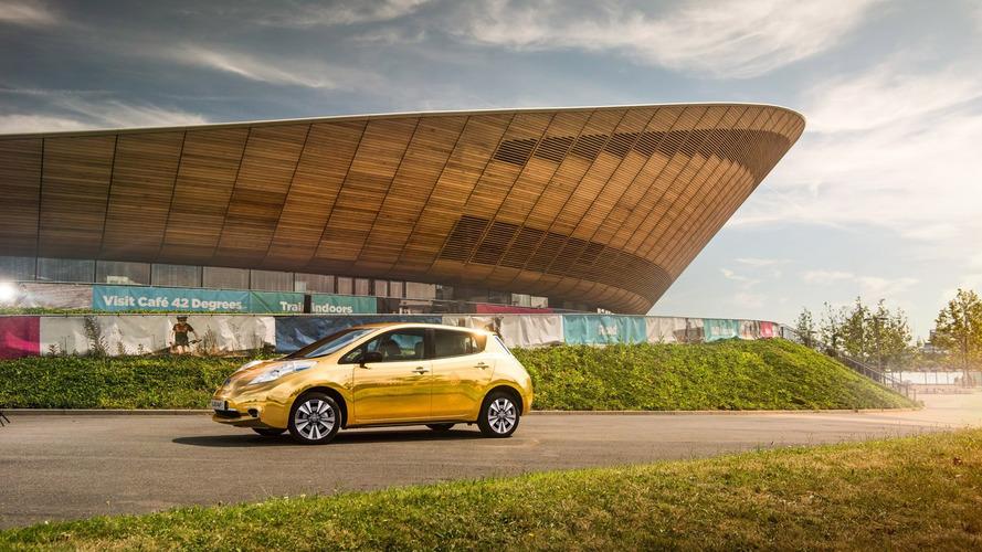 Nissan, Olimpiyatları kazanan İngiliz atletlere 'altın' bir Leaf verecek