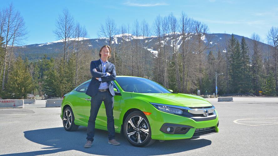 Onuncu nesil Honda Civic Coupe'un tasarımcısı, kendi tasarımı hakkında konuştu
