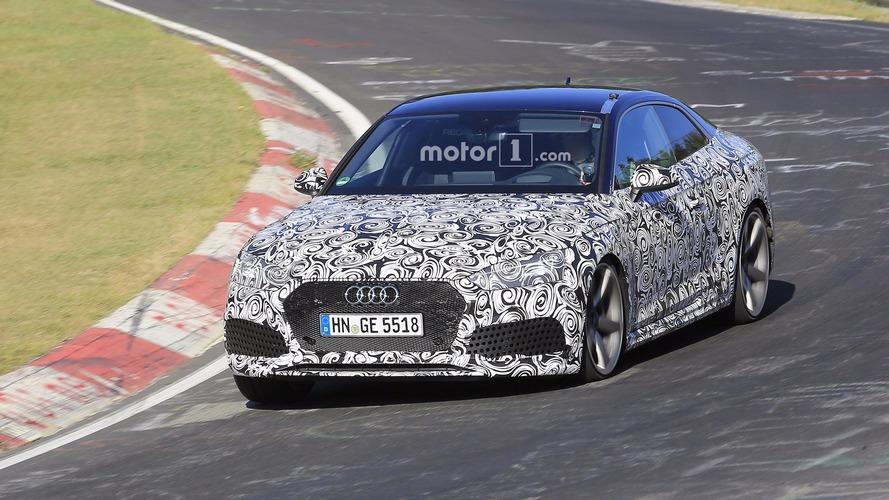 2018 Audi RS5 Coupe casus fotoğrafarı