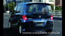 Honda lança nova minivan Freed no Japão baseada na plataforma do Fit
