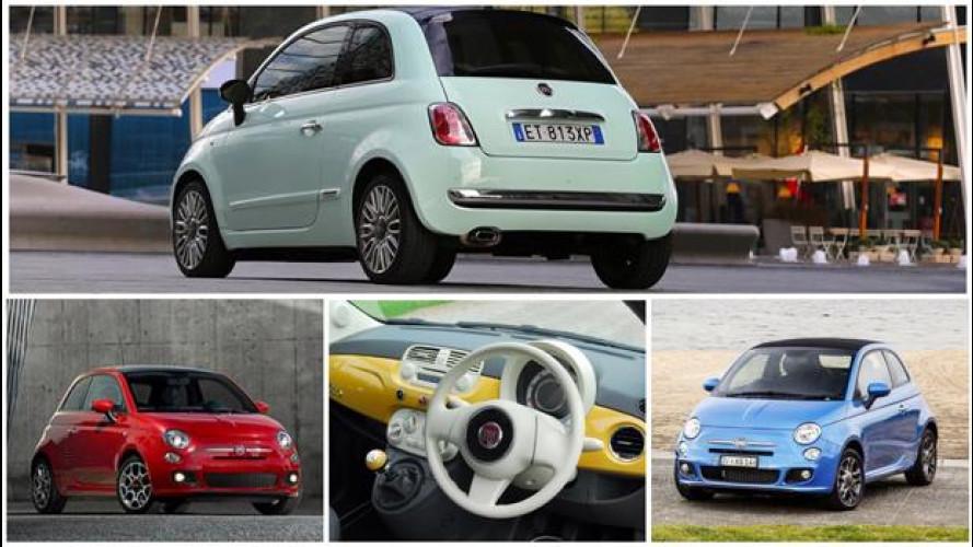 Fiat 500, piccola giramondo