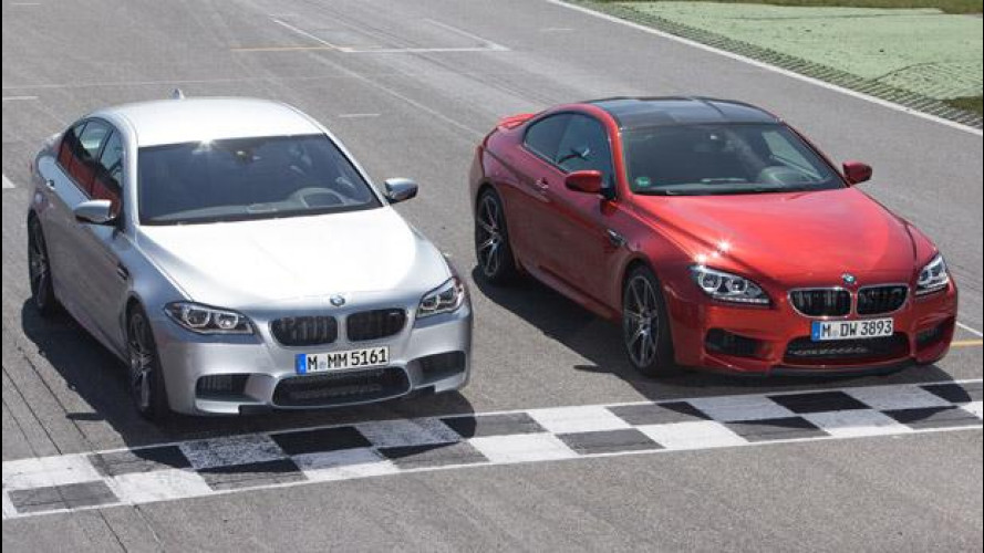 BMW M5 ed M6: arriva il Competition Package