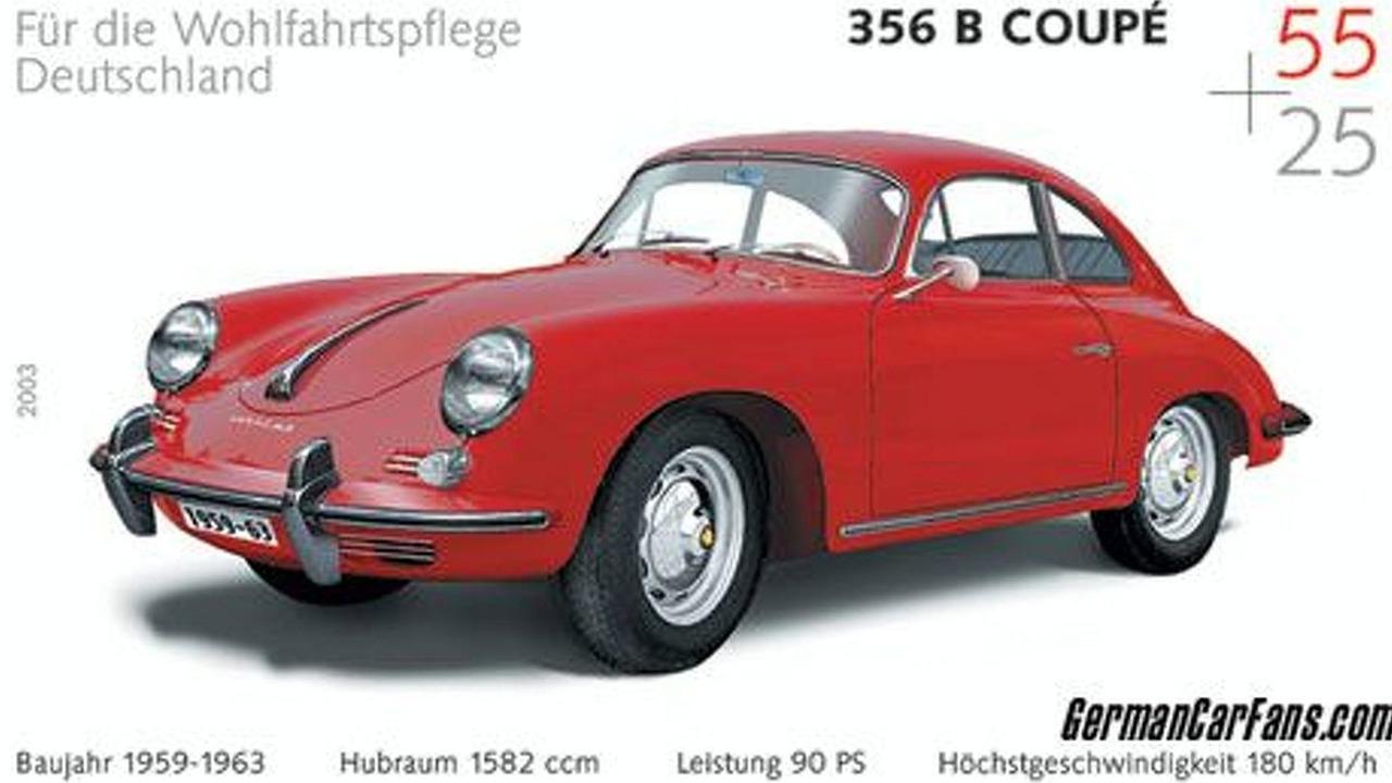 Porsche 356 B stamp